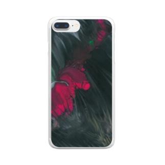 色彩の羽根 2021_002 Clear Smartphone Case