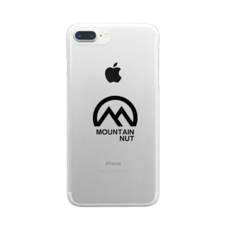 Mountain Nut Clear smartphone cases