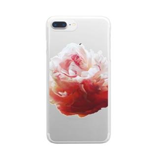 牡丹 Clear smartphone cases