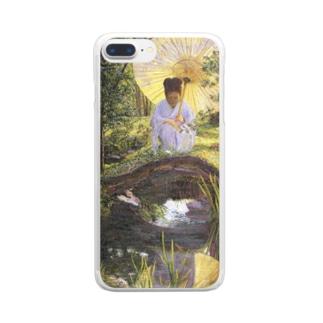 リラ・キャボット・ペリー 《日本庭園で》 Clear Smartphone Case