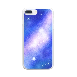 milky way Clear smartphone cases