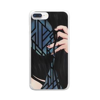 口ほどに語らう Clear smartphone cases