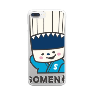 SOMEN侍「えへ」NEWモデル Clear smartphone cases