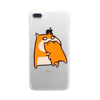 共食い Clear smartphone cases