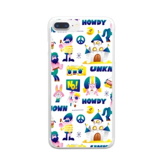 UNKNOWN WORLD Clear smartphone cases