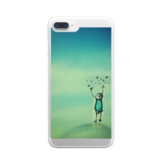 星図 Clear smartphone cases