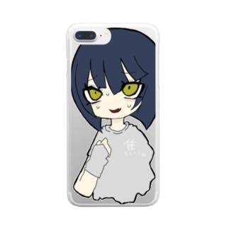 焦凛ちゃん。 Clear smartphone cases