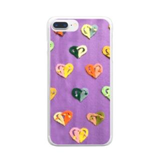 ハロウィン Clear Smartphone Case