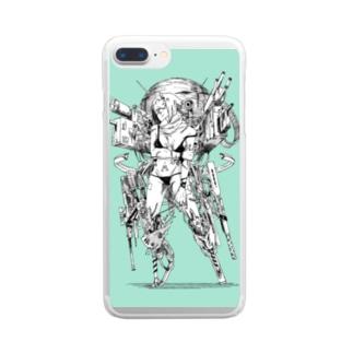 09号 Clear smartphone cases