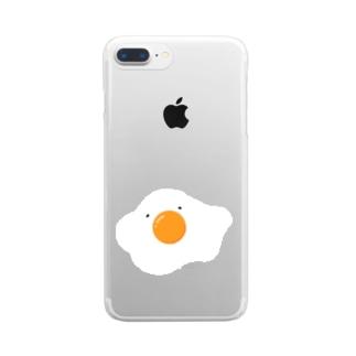 なまたまごくん Clear smartphone cases
