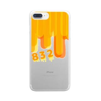 832 はちみつ Clear Smartphone Case