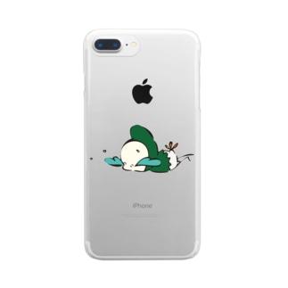 最強BABY Clear smartphone cases