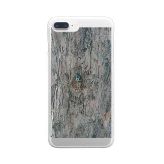 ミンミンゼミ Clear smartphone cases