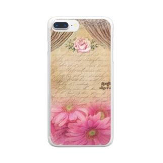 絵画風プリンセスルーム Clear Smartphone Case