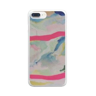『溶ける言葉』① Clear smartphone cases