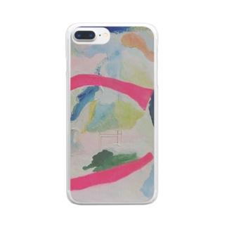 『溶ける言葉』② Clear smartphone cases