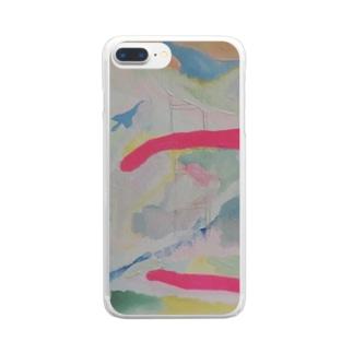 『溶ける言葉』③ Clear smartphone cases