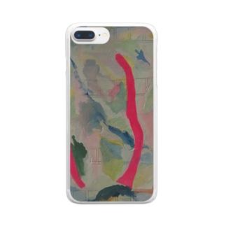 『溶ける言葉』④ Clear smartphone cases