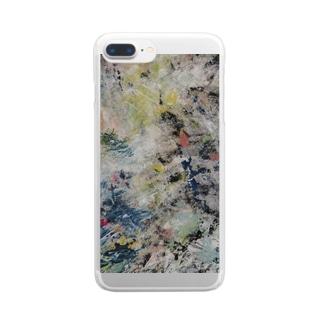 『まぼろし』③ Clear smartphone cases