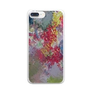 『傷付かなくていい』 Clear smartphone cases