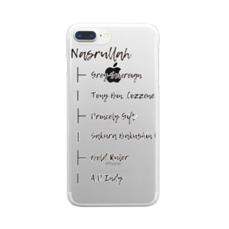 NASRULLAH Clear smartphone cases