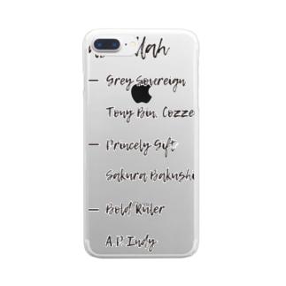 NASRULLAH Clear smartphone cases