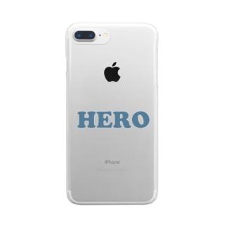 HERO 英雄・ヒーロー Clear Smartphone Case