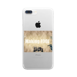 Making FOOL 001 Clear Smartphone Case