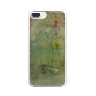 『わからない』 Clear smartphone cases