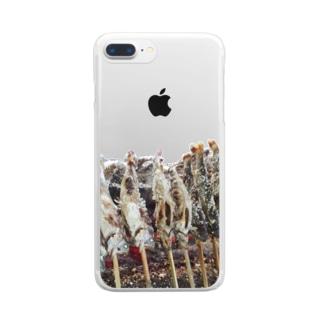 SAKANA Clear smartphone cases
