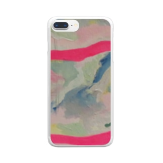 『溶ける言葉』 Clear smartphone cases