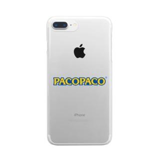 pacopaco クリアスマートフォンケース