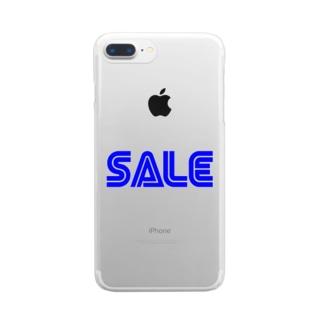 SALE クリアスマートフォンケース