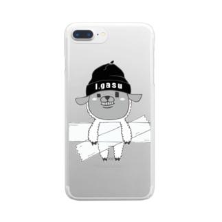 I.gasu sheep【アイガス】 Clear smartphone cases