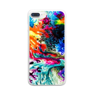 dyebirth_001 Clear smartphone cases