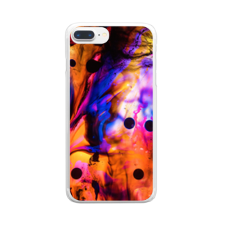 nor_tokyoのdyebirth_003 Clear smartphone cases