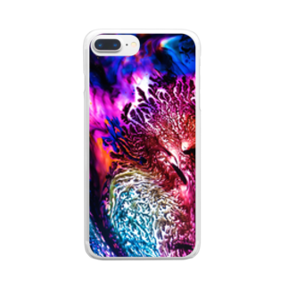 nor_tokyoのdyebirth_004 Clear smartphone cases