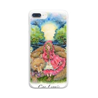 月光の森 Clear smartphone cases