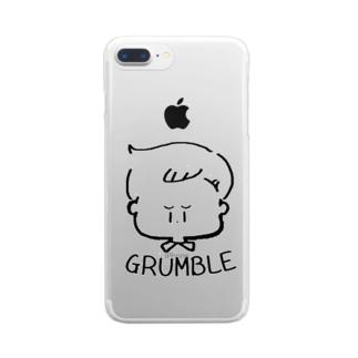 GRUMBLE BOY クリアスマートフォンケース
