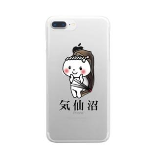 気仙沼 かきこっこ Clear smartphone cases