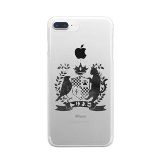 トリネコエンブレム Clear smartphone cases
