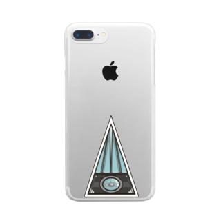 ホラーカメラメイソン秘密結社のせ民 Clear smartphone cases