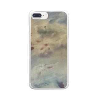 「夜に映える」 Clear smartphone cases
