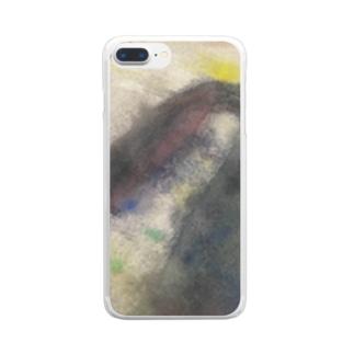 「言葉を生み出す時」 Clear smartphone cases