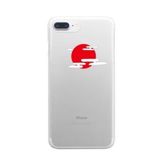 たいよう Clear smartphone cases