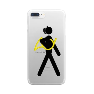 The Walking Hornist w/o Logo Clear smartphone cases