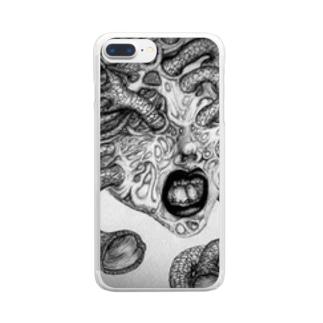 苛苛 Clear smartphone cases