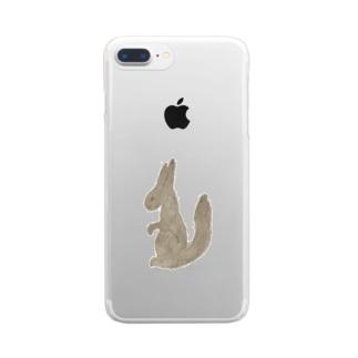 多リス フォン Clear smartphone cases