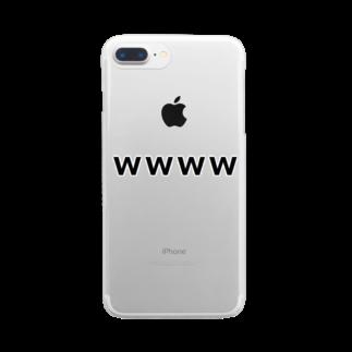 Teatime ティータイムの大草原 草生える 笑 大爆笑 W Clear smartphone cases