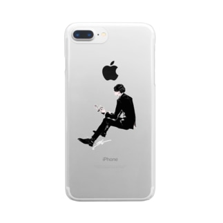 Lovehim/BW Clear smartphone cases